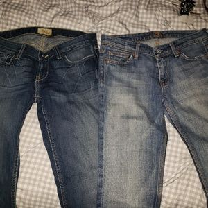 Seven for All Mankind and BKE jeans sz 26×33